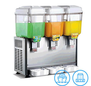 Innotrics Juice Dispenser Three Jars 220V