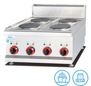 Innotrics Electric Counter Top Cooker 4 Plates 220V